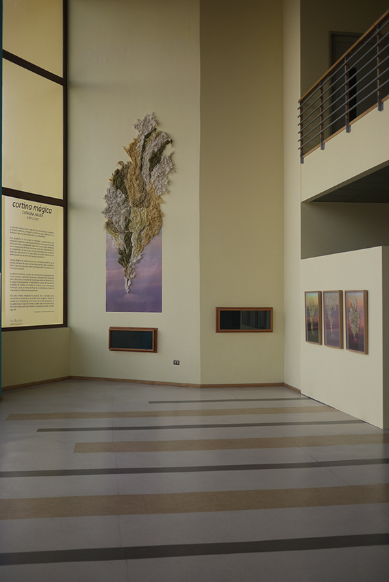 Vista de la Exposición Cortina Mágica