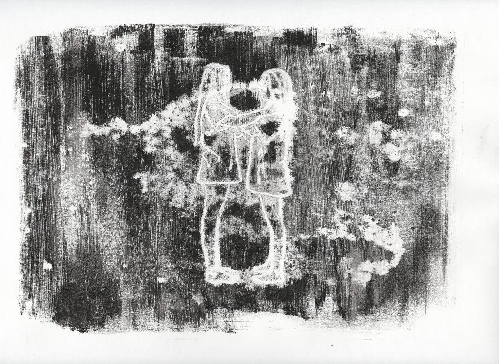 Captura de animación, Dos Líneas Tocando un Cántaro